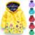 Venda quente da menina brasão & jackets crianças hoodies crianças jaquetas casacos meninas outerwear jaqueta impermeável para o bebê roupas de menina