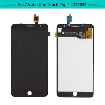Tested 3 PCS For Alcatel POP4 Plus 5056M OT5056 5056J 5056A 5056D LCD Display Assembly Complete Digitizer with touch Screen
