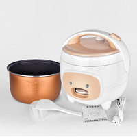 2L Electric Rice Cooker Steamer Multifunction cooking Pot Electric insulation heating cooker 220V 400W