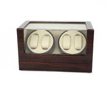 Watch Winder ,LTCJ Wooden Automatic Rotation 4+0 Watch Winder Storage Case Display Box (BW)without the lock