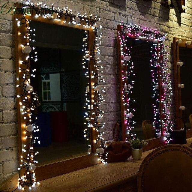 bowarepro light led christmas lights lighting ball decorations ktv string flasher light christmas wedding party