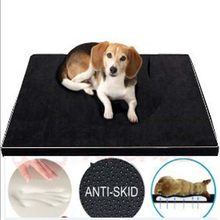 All Seasons Pet Dog Sofa Mats Washable Thicken Memory Form Comfortable Big Dog Cat Sleeping Bed Nest Large Labrador Pet Cushion(China)