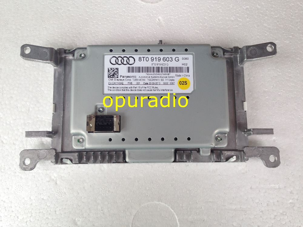 OEM MMI Display Unit Screen 8T0919603G For A4 S4 RS4 8K A5 S5 RS5 Q5 8R 8T0 919 603 G 8T0057603A 8T0 919 603G free shipping