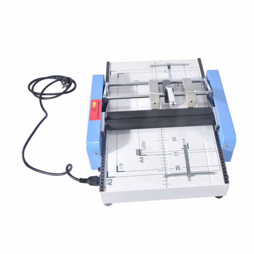 Booklet Stapling Machine A3 size Pamphlet Stapler Paper folding machine 2-in-1 110V, 60 Hz 24/6 type staples folding machine raymond minns a student centered mathematics booklet system