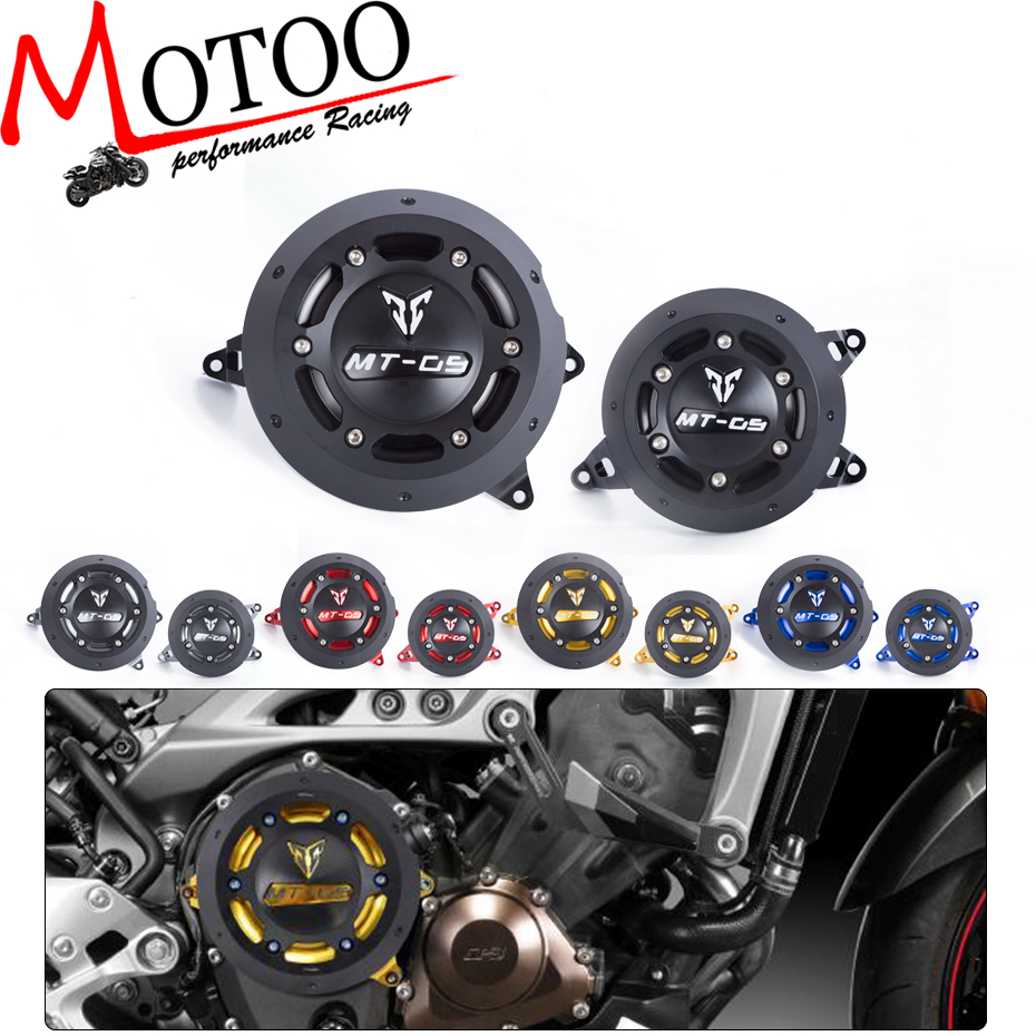 Motoo - NEW Engine Guard Protector Engine Guard Case Slider Cover Protector Set For YAMAHA MT-09 MT09 tracer 2014-2017 sep motorcycle accessories carbon fiber engine sprocket chain case cover clutch cover for yamaha mt09 fz09 tracer fj09 2014 2017