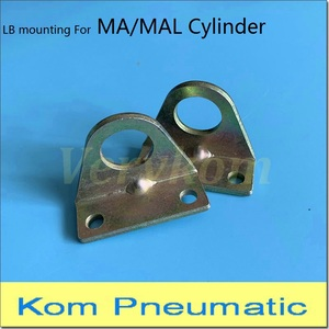 Pneumatic MA MAL Mini Cylinder Mounting Base LB Foot Clevis For Airtac Type Piston F-MA/MAL16/20/25/32/40LB F-MAL25LB F-MAL40LB(China)