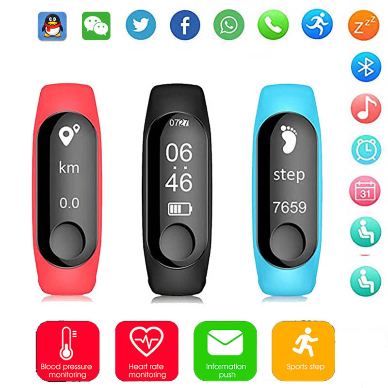 Smart Watch Men Sport Heart Rate Blood Pressure Pedometer Calories Burned Fitness Bracelet Smart wristband Women For IOS Android 2018 men women smart bracelet sport watch bluetooth heart rate blood pressure calories pedometer led smartwatch for android ios
