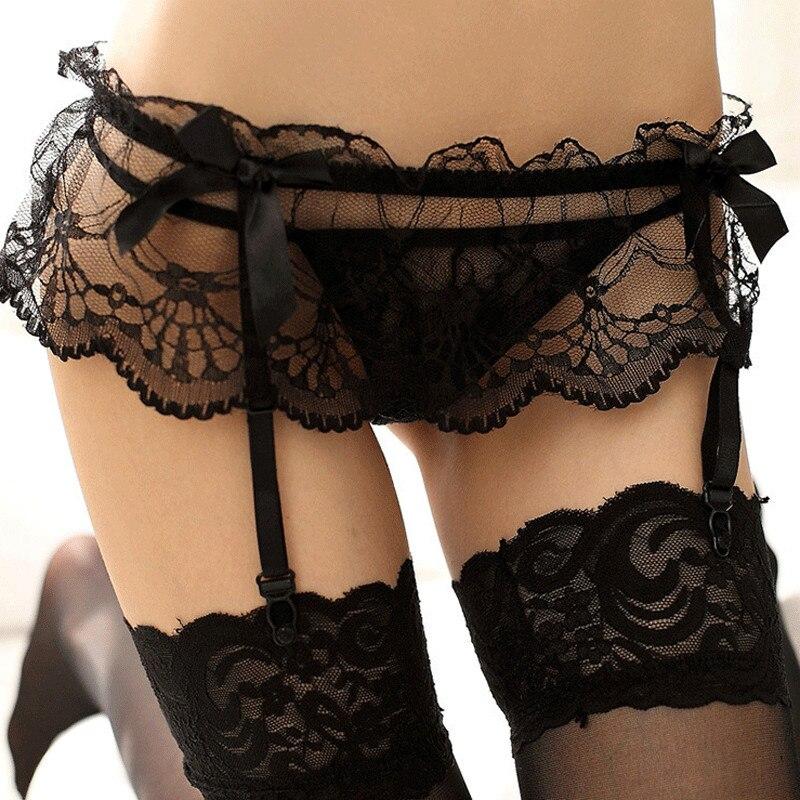 sexy-lace-garter-nude-female-small-breast