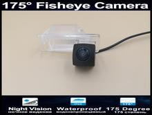 175 Degree 1080P Reverse camera Parking Car Rear view Camera for Nissian X-Trail 2002 - 2012 Qashqai 2008 2010 2011