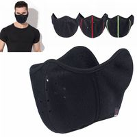 Motorcycle Half Face Mask Cover Unisex Ski Snow Moto Cycling Warm Mask Winter Balaclavas Face Mask Tactical