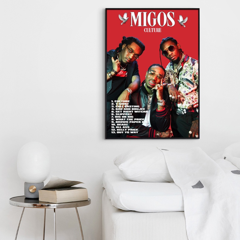 24x36 Migos Culture poster wall art home decor photo print 16x24 20x30