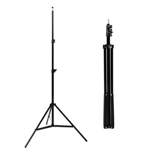 Image 3 - 2M işık standı Tripod ile 1/4 vida kafa fotoğraf stüdyosu Softbox Video flaş şemsiye reflektör aydınlatma