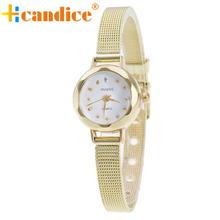 relogio masculino erkek kol saati reloj mujer Ladies Girls Stainless Metal Mesh Band Wrist Watch Oct20 supper enjoyable
