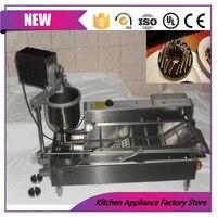 Free shipping automatic lil orbits donut frying machine donut maker doughnut making machine