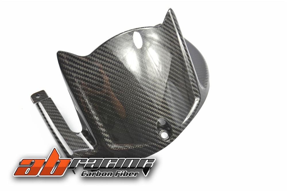 Rear Hugger Fender Tire Mudguard Cover For Kawasaki ZX10R 2016 2017 2018 Full Carbon Fiber 100%  Twill