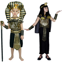 Hot Selling Newest Halloween Children's Wear Egyptian Clothes Roman Clothes Middle Eastern Clothes Egyptian Clothes Children