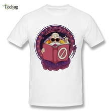 Funny Design Man Dragon Ball Z T Shirt Master Roshi T-Shirt For Men Round Collar Tees
