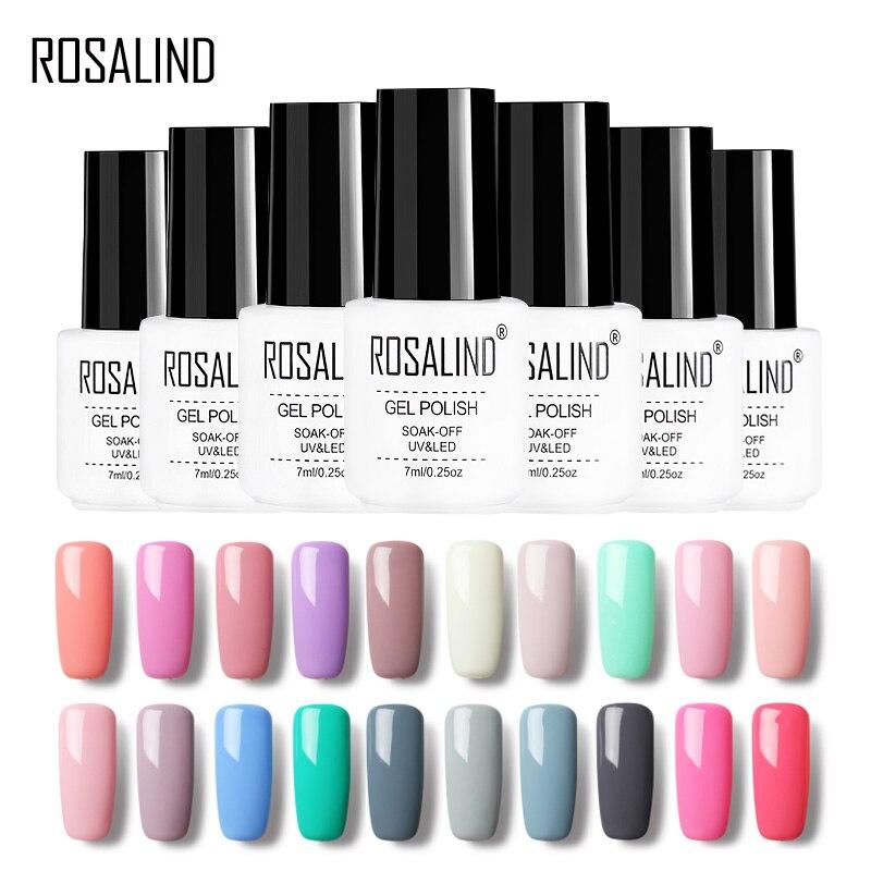 Hot Sale Rosalind Gel 1 Pure Color Series 7ml Gel Nail Polish 31 58