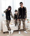 Family Sport Letter clothing set Mom and daughter me Dad Son mother matching clothes autumn winter Mommy Father outfits suits