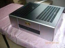 DIY 430*140*368 DIY chasis del amplificador de potencia caso con radiador