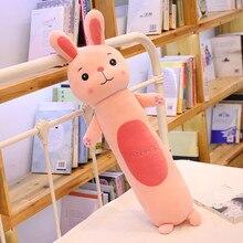 Милые детские куртки с кроликом из мультфильма, плюшевая игрушечная обезьяна длинная подушка программное обеспечение для детей спящая кукла подарок на день рождения для девочки