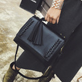 Borlas novo estilo das mulheres bolsa saco do mensageiro fêmea Saco envelope do vintage bolsa de ombro de alta qualidade maleta Marca original