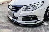 Carbon Fiber Front Bumper Canard Car Styling Accessories For Volkswagon 09 12 Passat CC EPA