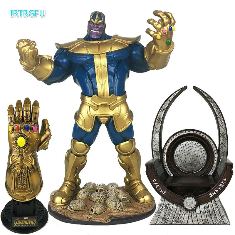33cm Marvel Toys The Avengers 3 INFINITY WAR Thanos PVC Action Figures TITAN HERO SERIES Figure Collectible Model Toy