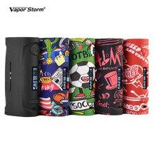 증기 폭풍 푸마 베이비 80W 폭스 바겐 TC 박스 모드 Vape Mod 패션 쉬운 지원 18650 배터리 전자 담배 RDA RDTA Vaper 키트