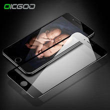 OICGOO 9H Premiun Full Cover Tempered Glass For iPhone 7 6 6S Plus Screen Protector Tempered glass For iphone 6 6S 7 Plus glass