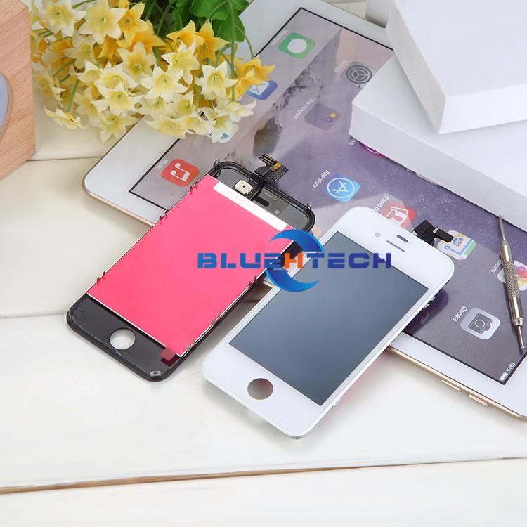 Dla iphone 4s ekran wyświetlacz lcd ekran dotykowy digitizer zgromadzenie części zamienne telefon lcd lcd do telefonów komórkowych/czarny biały 3