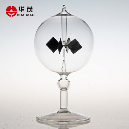 15*8*8cm Crookes radiometer Photovoltaic windmill bolometer physical exploration instrument  free shopping15*8*8cm Crookes radiometer Photovoltaic windmill bolometer physical exploration instrument  free shopping