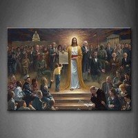 Unframed Wall Art Pictures Christian Holy Bible Canvas Print Modern Religion Posters Without Frame For Living Room Decor