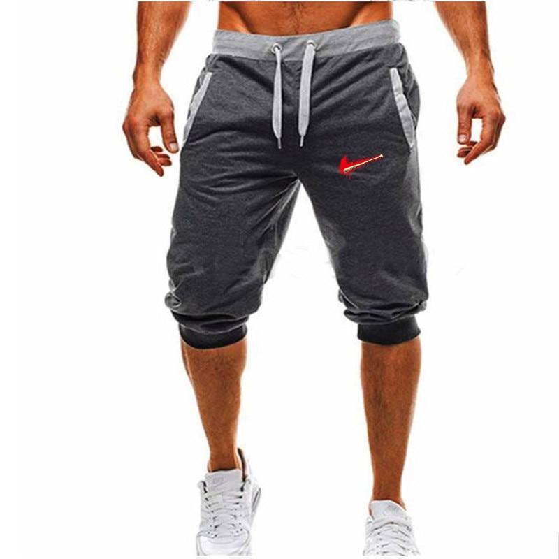 PüNktlich 2018 Neue Männer Sporting Beaching Shorts Hosen Baumwolle Bodybuilding Jogginghose Fitness Kurze Jogger Casual Fitness-studios Männer Shorts