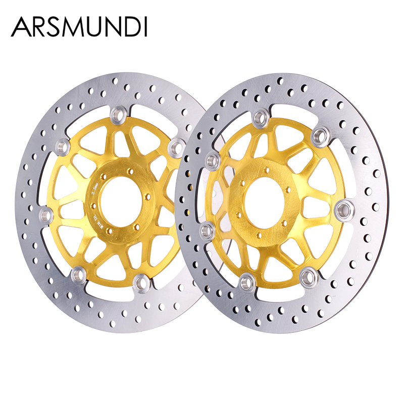 Front Brake Disc Plate Brake Disks For Honda CB400 VTEC400 VTEC 1999 2000 2001 2002 2003-2012 Motorcycle Accessories motorcycle anti crash device guards front protector fence bumper front side frame for honda cb400 vtec 1999 2012 2011 2010 2009