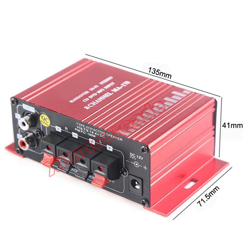 X MA-170 Amplifier 06