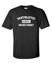 Fashion Top Tees Short Sleeve Gift Crew Neck Mens Mathletic Math Geek College Pie Sarcasm Gift For Enginneer Genius Shirts