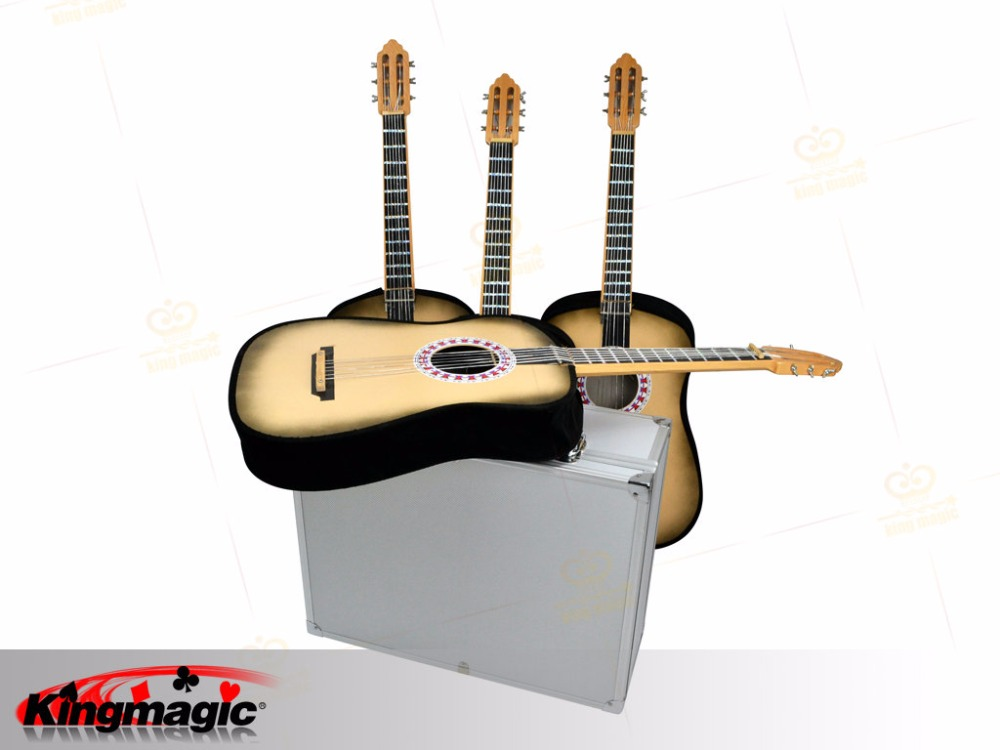 appearing 4 guitars from the case magic tricks stage magic in magic tricks from toys hobbies. Black Bedroom Furniture Sets. Home Design Ideas
