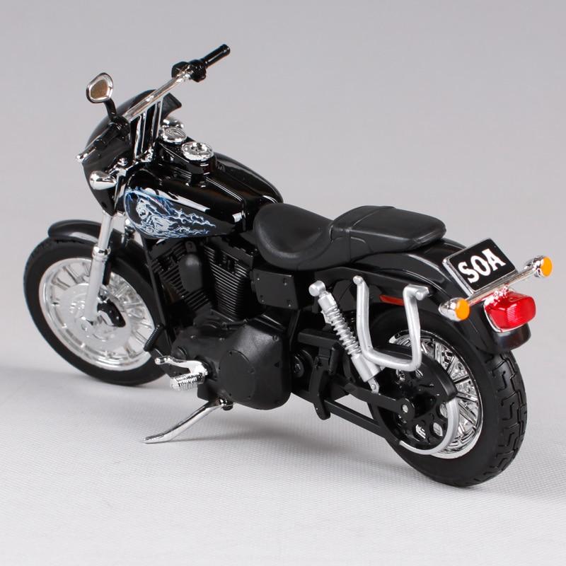 Maisto 1:12 harley black zoon van anarchie motorfiets diecast cadeau - Auto's en voertuigen