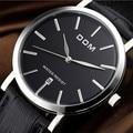 2016 hombres de los relojes de primeras marcas de lujo DOM nuevos hombres de moda cuarzo reloj de pulsera para hombre relogio masculino relojes 200 m impermeable