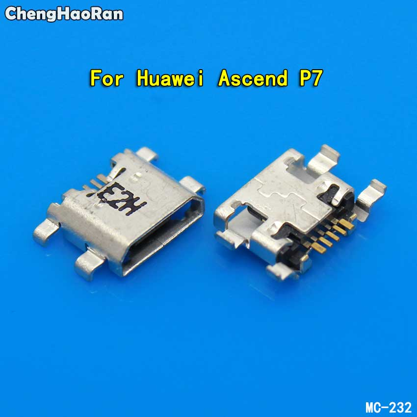 Chenghaoran Dock-Plug Charging-Port Huawei P7 Micro-Usb 6-Honor Jack-Socket-Connector