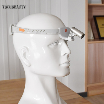TDONBEAUTY[NEW ARRIVAL] KD-205AY-8 3W High CRI LED Portable Surgical Dental Head Lamp For (oral, beauty, ENT, pet) Free Shipping