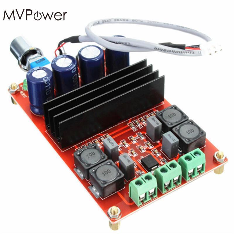 MVpower 2x100 Watt XH-M190 TPA3116 Doppel Kanal Digitalen Audio-verstärker AMP Platte 12-24 V