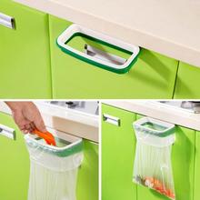 Practical Environmental Protection Hanging Kitchen Cupboard Cabinet Tailgate Stand Storage Garbage Bags Rack