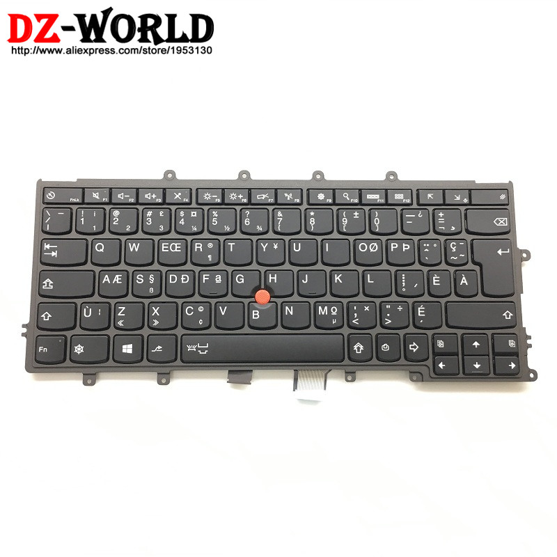 New Original for Thinkpad X230S X240 X240S X250 X260 Canadian French Backlit Backlight Keyboard Teclado 04X0178 04X0216 0C43983 new original for lenovo thinkpad x230s x240 x240s x250 x260 backlit keyboard us english 04x0177 04x0215