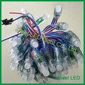 12mm led pixel luz cordas com ic UCS1903, WS2811, WS2801 para decoração de natal