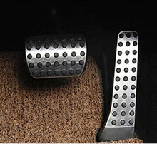 2pcs Sport Gas Brake Pedal Kit For Mercedes GLC X205 Benz GLC200 GLC220 GLC250 GLC300 GLC