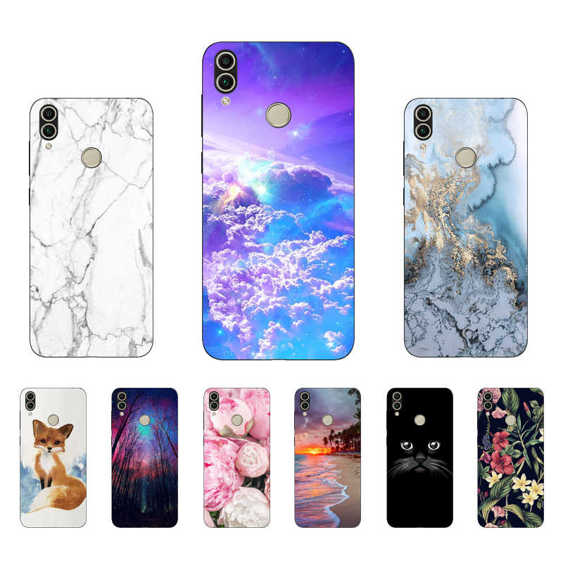 "5.7 ""AUM-L41 Case Voor Huawei Honor 7C Case Siliconen Bumper op Honor7C 6C Case Cover Soft TPU 5.99"" huawei Honor 7 C 7C Funda"