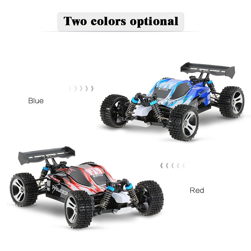 RC Car A959 Updated Version A959-B 2.4G Radio Control Truck RC Buggy 1/18 4WD 70km/h Highspeed Off-Road Rock Crawler RTR RC Car goolrc toys a959 a a959 b rc car 1 18 scale 2 4g 4wd electric rtr off road buggy rc cars suv toys radio remote control rc toy