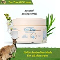 100% Australian GM Tea Tree Oil Cream Face Cream moisturising Body Cream for dry skin sensitive skin cream soft & soothes skin